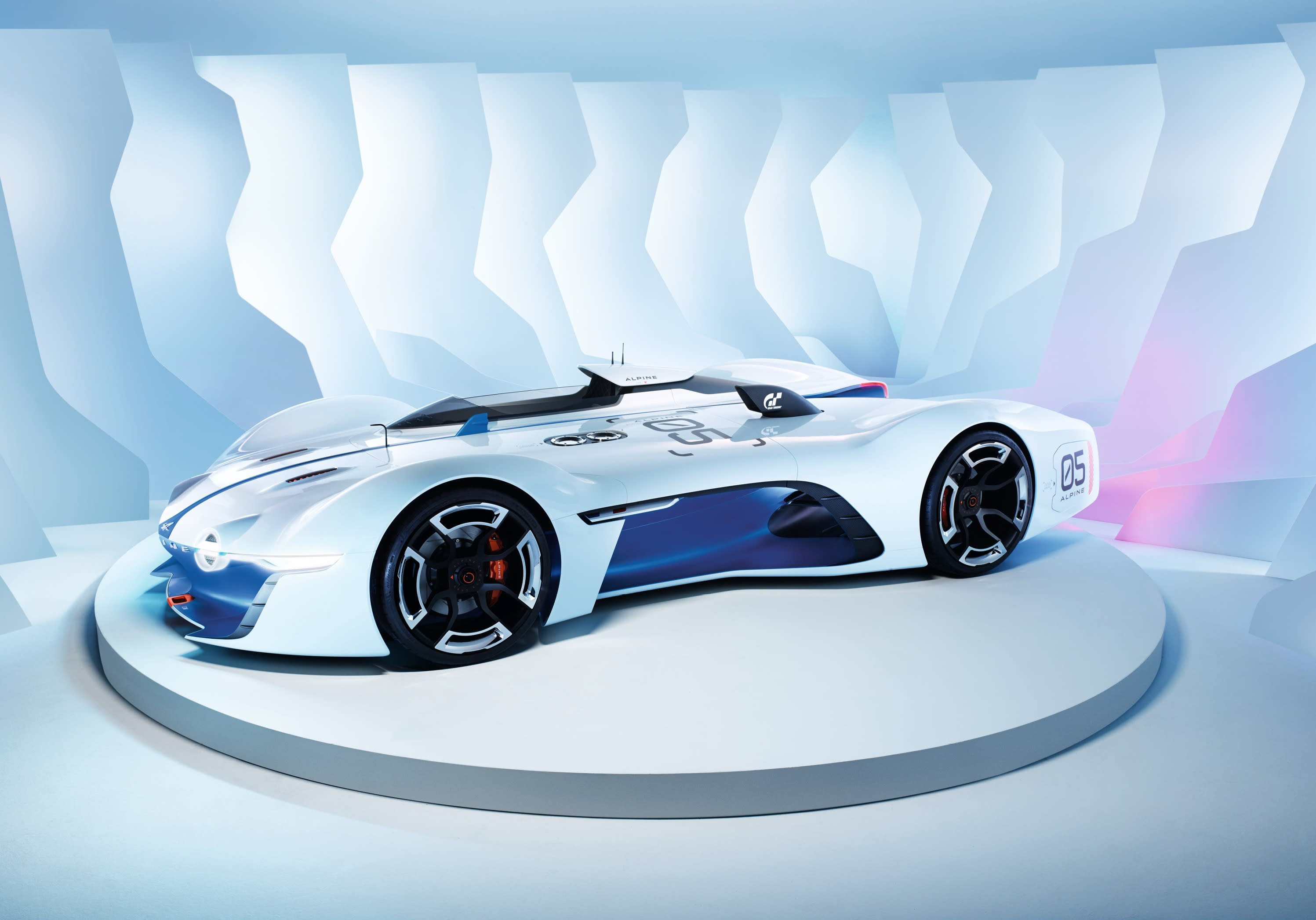 Renault-Alpine's 'Gran Turismo' race car breaks virtual cover