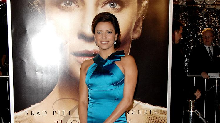 The Curious Case of Benjamin Button Premiere 2008 LA Eva Longoria