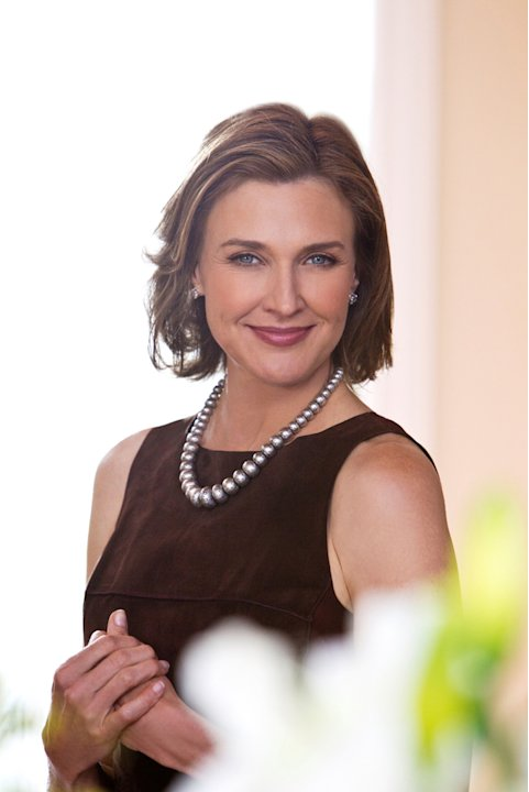 Brenda Strong stars as Ann Ewing in &quot;Dallas.&quot; 