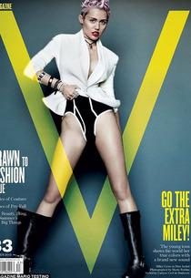 Miley Cyrus, V Magazine | Photo Credits: Mario Testino for V Magazine