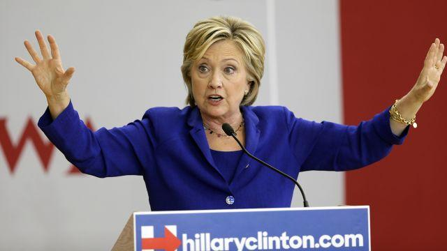 Hillary Clinton says expelled LGBT vets should get 'honorable' discharges