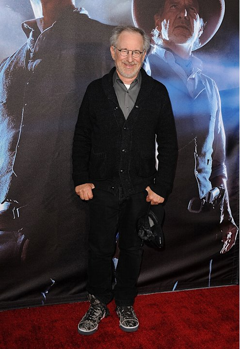 Cowboys and Aliens SD Premiere 2011 Steven Spielberg