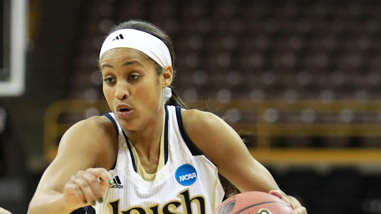 NCAA Womens Basketball: NCAA Tournament-Notre Dame vs Iowa