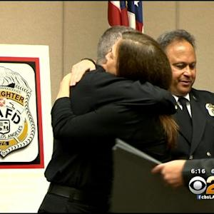 Heart Attack Victim Reunites With First Responders In Burbank