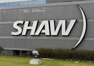The Shaw Communications sign is seen on their office building in Calgary, Alberta in this May 3, 2010 file photo. REUTERS/Todd Korol/Files
