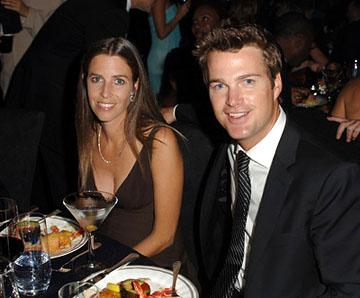 Chris O'Donnell and wife Governor's Ball Emmy Awards - 9/18/2005
