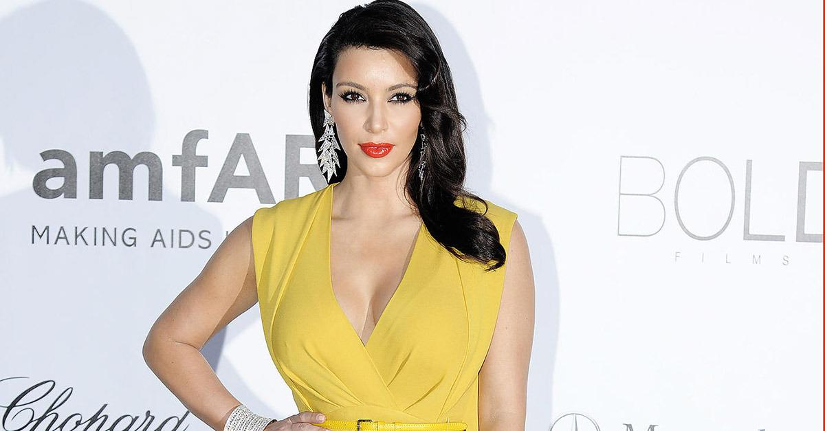 16 Places You Didn't Expect to Find Kim Kardashian