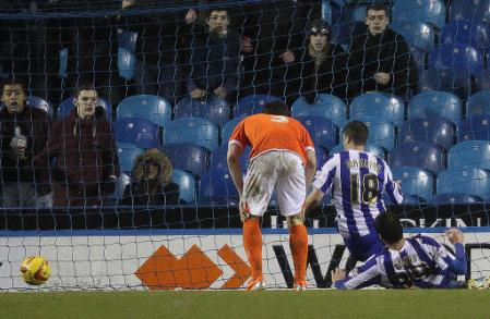 Soccer - Sky Bet Championship - Sheffield Wednesday v Blackpool - Hillsborough