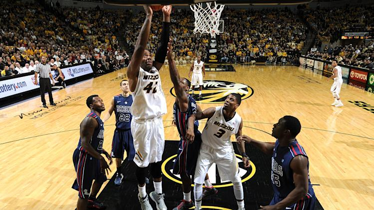 NCAA Basketball: Mississippi at Missouri