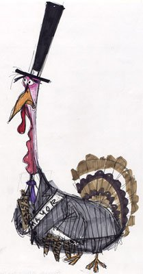 Concept art for Turkey Lurkey Walt Disney Pictures' Chicken Little