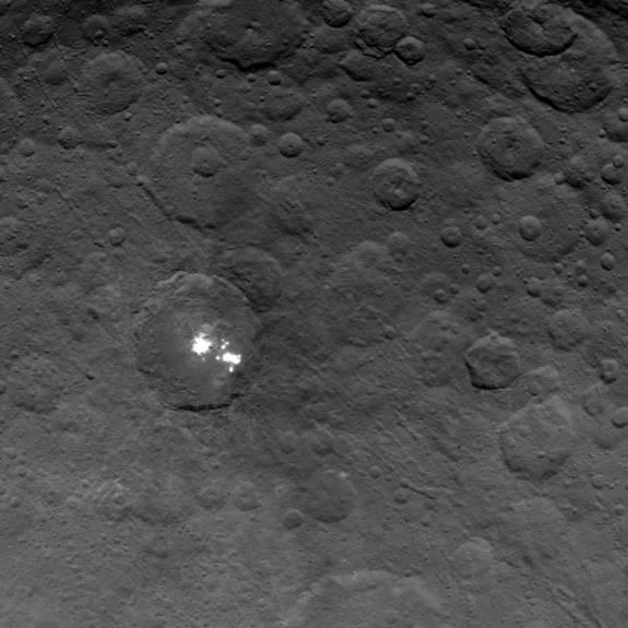Strange Bright Spots on Ceres Create Mini-Atmosphere on Dwarf Planet