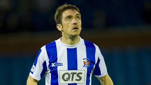 Paul Heffernan has opted to leave Kilmarnock for Hibernian