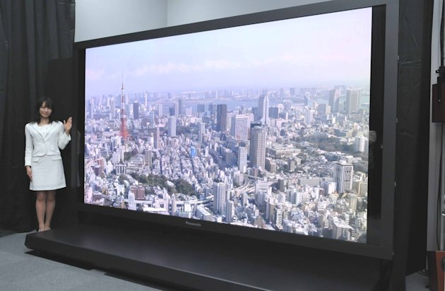 TV technology is moving at a dizzying pace  Picture: NHK/Panasonic