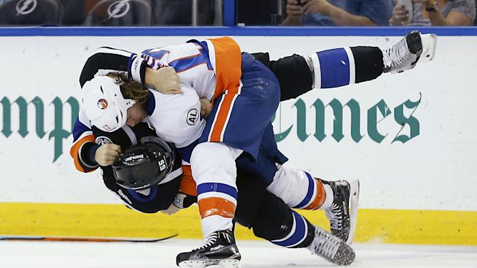 NHL: New York Islanders at Tampa Bay Lightning