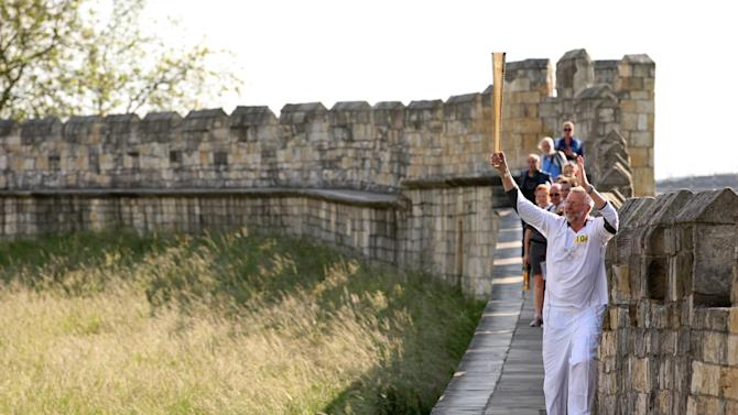 Day 32 - Olympic Torch Relay