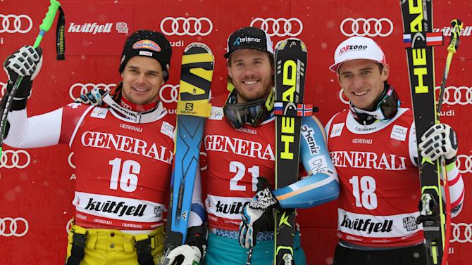 Jansrud beats Keung to win men's WCup super-G race