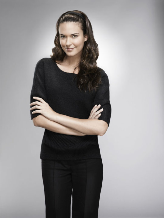 Odette Annable as Dr. Jessica Adams in the &quot;House&quot; Season Eight premiere. 