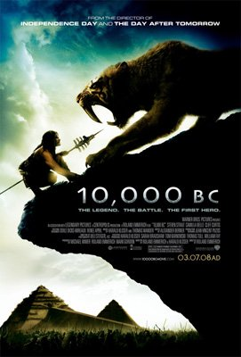Warner Bros. Pictures' 10,000 B.C.