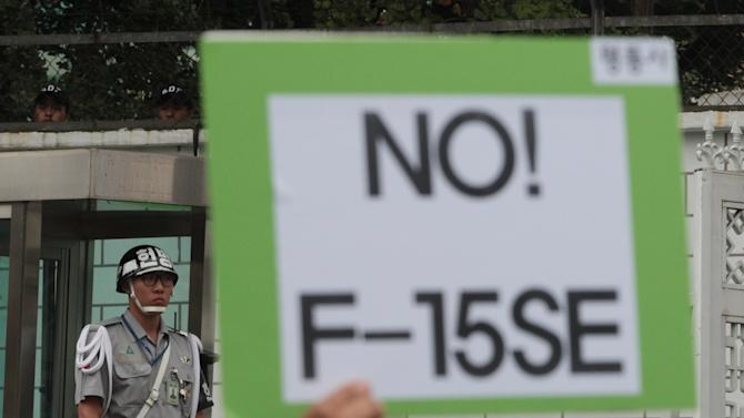 SKorea rejects Boeing, says F-15 not good enough