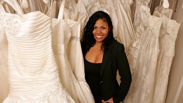 "Sarah, a bridal consultant at Kleinfeld Bridal, on ""Say Yes to the Dress."""