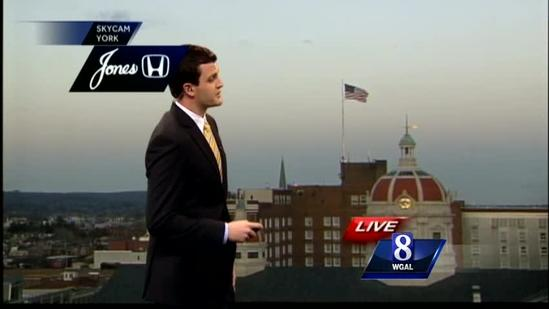 Winter system expected to move through Susquehanna Valley quickly