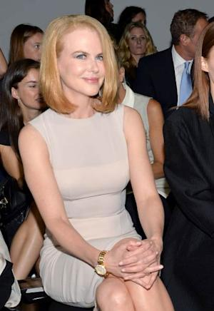 Nicole Kidman attends the Calvin Klein Collection fashion show during Mercedes-Benz Fashion Week Spring 2014 at Spring Studios on September 12, 2013 in New York City -- Getty Images