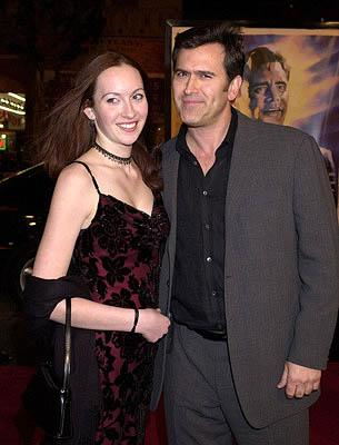 Bruce Campbell and daughter at the Hollywood premiere of Warner Brothers' The Majestic