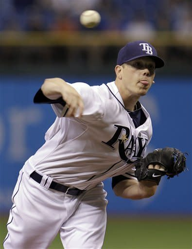 Johnson has RBI single in 12th, gives Rays win