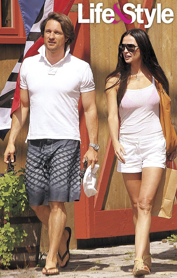 Demi Moore Dating A New Younger Man