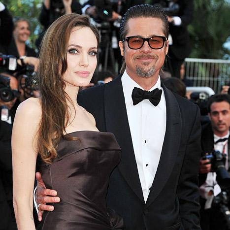 "Brad Pitt Calls Angelina Jolie ""Heroic"" After Her Double Mastectomy"