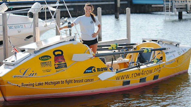 Woman Rowing Perimeter of Lake Michigan Sexually Assaulted (ABC News)