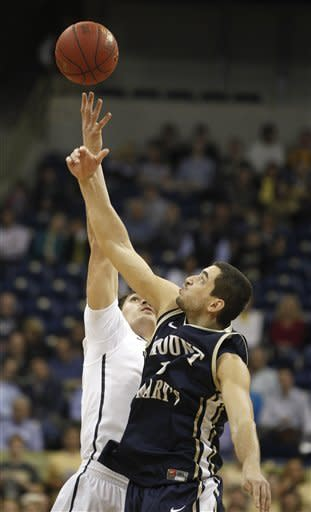 Pitt eases by Mount St. Mary's 80-48 in opener
