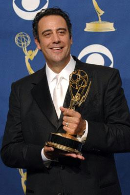 "Brad Garrett, winner - Outstanding Supporting Actor in a Comedy Series for ""Everybody Loves Raymond"" 57th Annual Emmy Awards Press Room - 9/18/2005"