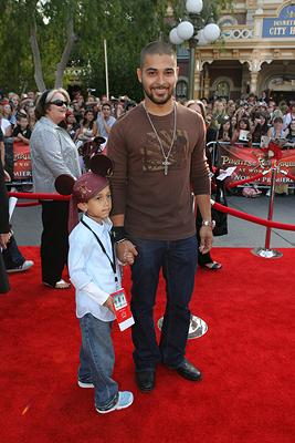 Wilmer Valderrama and brother Chris at the Disneyland premiere of Walt Disney Pictures' Pirates of the Caribbean: At World's End