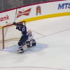 Andrew Ladd buries breakaway past Nilsson