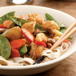 Fast, Produce-Packed Lemon Chicken Stir-Fry