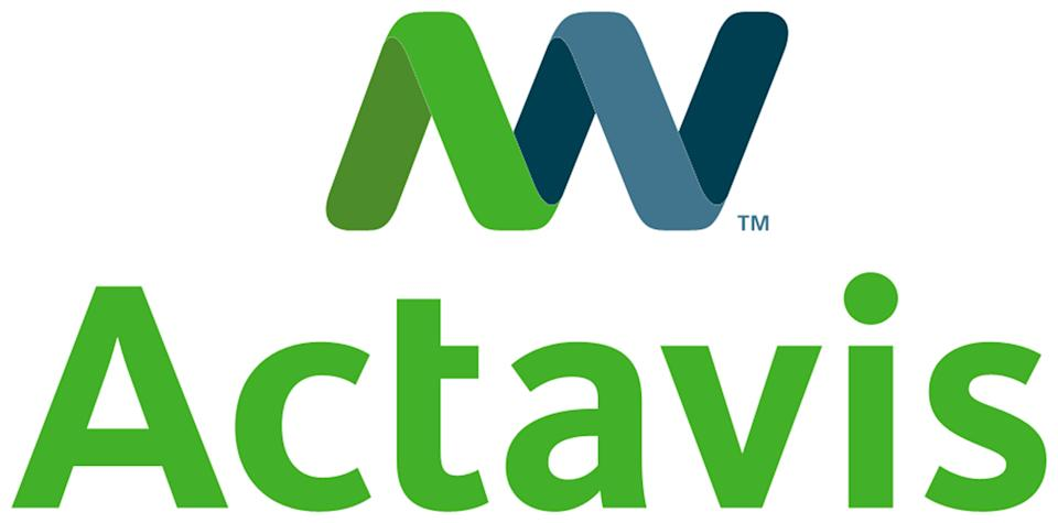 This photo provided by Actavis shows the company's logo. Drugmakers Actavis Inc. and Warner Chilcott PLC said Friday, May 10, 2013, that they are in early talks about a possible combination of the two companies. Both say there is no agreement on a deal yet. (AP Photo/Actavis)