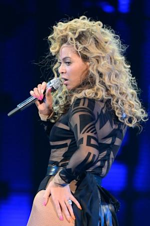 Beyonce performs on stage at Ovation Hall at Revel Resort & Casino  in Atlantic City, NJ, on May 25, 2012 -- WireImage