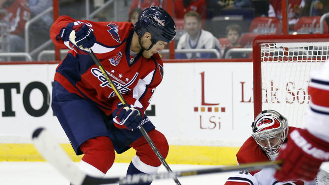 Capitals beat Hurricanes 5-2 in preseason finale