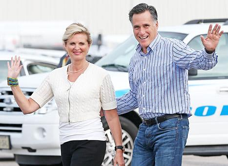 Mitt Romney, Wife Ann See Breaking Dawn - Part 2 on Casual Weekend Date Night
