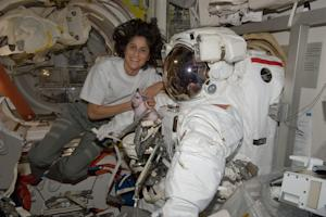 Record-Setting Female Astronaut Takes Command of Space Station