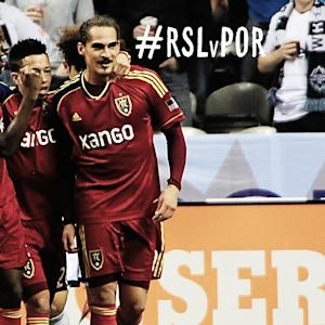 GOAL: Devon Sandoval makes it 3 for Real Salt Lake