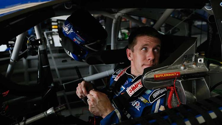 Edwards posts top speed in All-Star Race qualifying