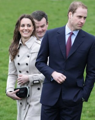 William isn't planning on wearing a wedding band, and Kate's just fine with his decision. (Photo by Chris Jackson/Getty Images)