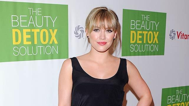 Hilary Duff Beauty Launch