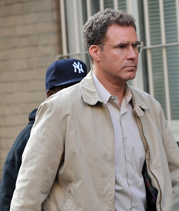 Spotted on Set October 2009 Will Ferrell