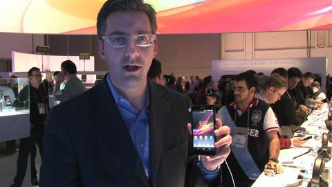 CES 2013: First Look at Sony Xperia Z Phone