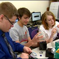Local High School Students Send Invention To Space
