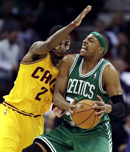 Irving leads Cavalers past Celtics, 95-90