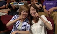 Yoonah and Sunny visits &#39;Dancing With The Star&#39; to cheer for Hyoyeon